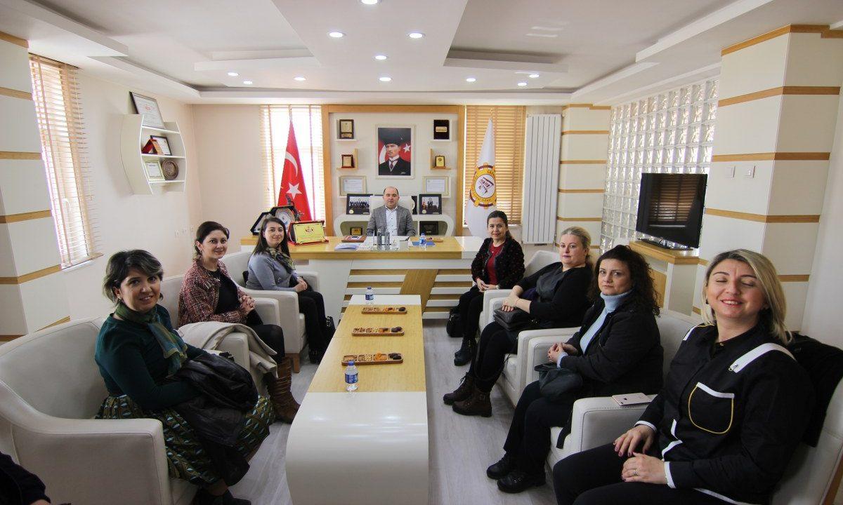 (Turkish) KADIN GİRİŞİMCİLER KURULU ODAMIZI ZİYARET ETTİ