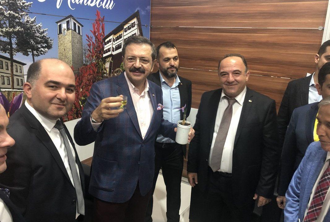 YÖREX'TE SAFRANBOLU TSO RÜZGARI ESTİ